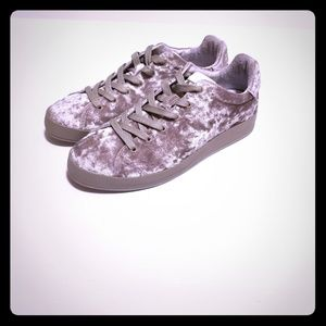 Rag & Bone RB1 Velvet Sneakers Women's Size 10